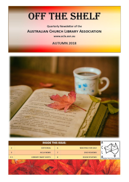 Off the Shelf title page - Autumn 2018